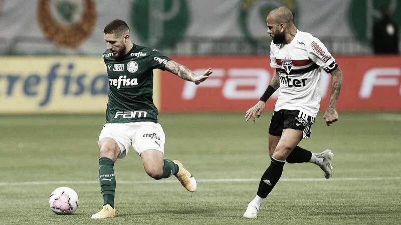 Na briga pelo título, São Paulo recebe Palmeiras em jogo atrasado do Brasileirão