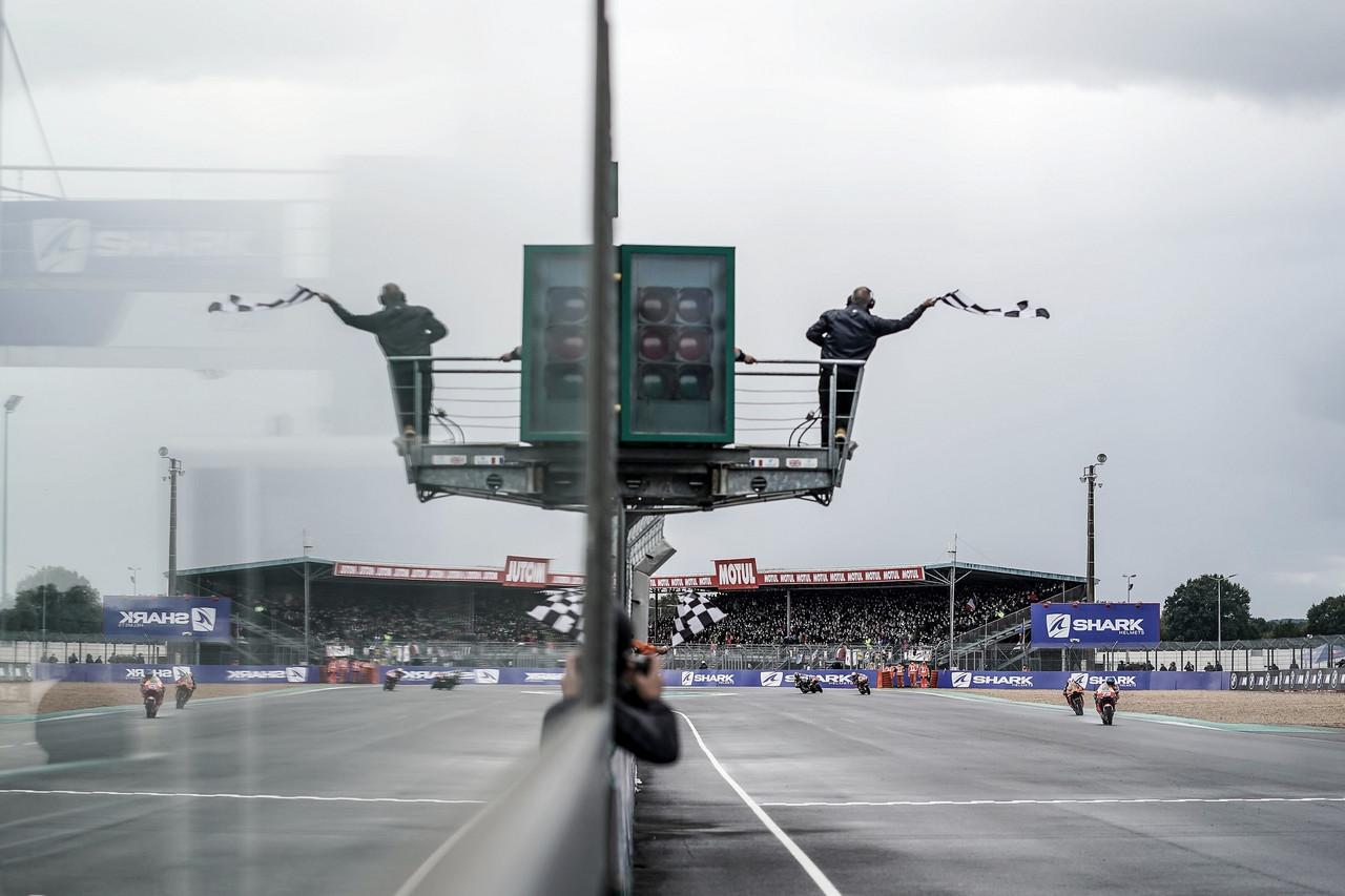 El podio de MotoGP en Francia al habla: Petrucci se reivindica