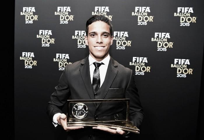 Wendell Lira conquista o prêmio do gol mais bonito de 2015