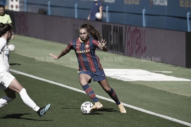 Lieke Martens llega a los 100 partidos con el Barcelona