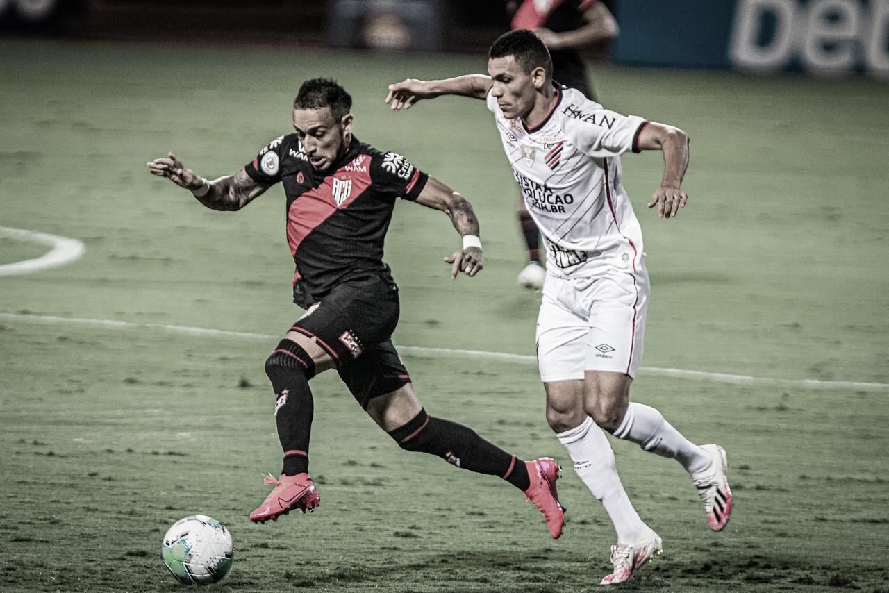 Athletico-PR e Atlético-GO colocam suas invencibilidades à prova no Campeonato Brasileiro