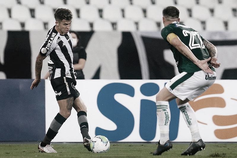 Sonhando com permanência na Série A, Goiás recebe rebaixado Botafogo