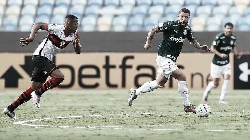 Gols e melhores momentos para Palmeiras 1x1 Atlético-GO pelo Campeonato Brasileiro