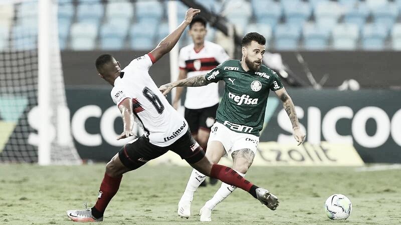 Com ambos tranquilos na tabela, Palmeiras recebe Atlético-GO