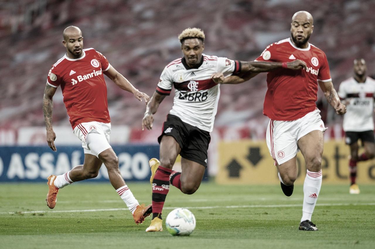 """""""Final"""" no Maracanã: Inter carrega vantagem sobre Flamengo no confronto direto"""