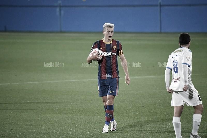 Jandro Orellana y Oriol Busquets vuelven a la convocatoria del Barça B