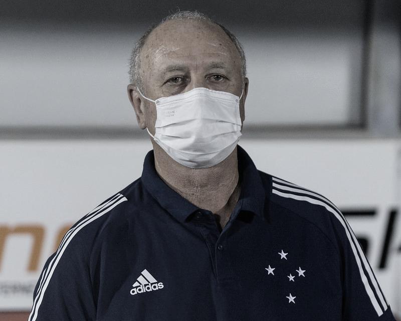 """Felipão valoriza vitória do Cruzeiro, mas minimiza boa fase: """"Não adianta pensar grande"""""""