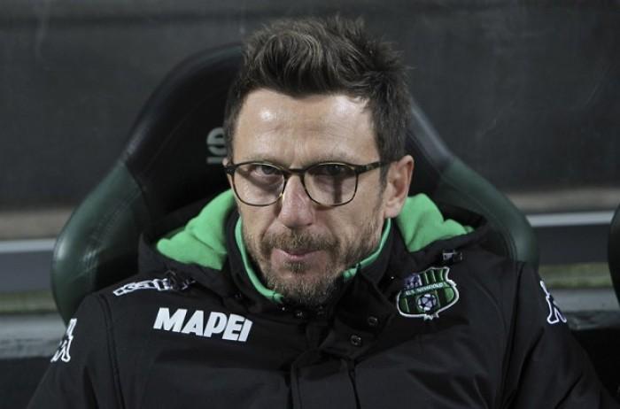 """Sassuolo, Di Francesco: """"Non è stata una partita facile"""""""