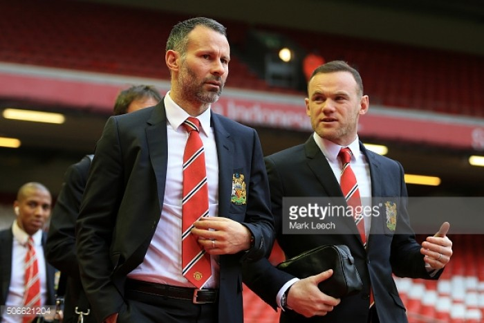 Ryan Giggs states Wayne Rooney will have a future at Manchester United, if he accepts a lesser role
