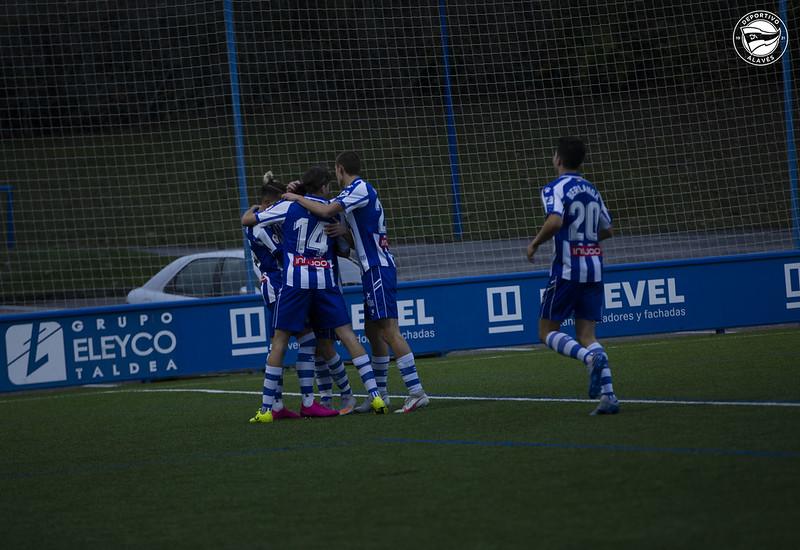El Deportivo Alavés B escala hasta la segunda plaza