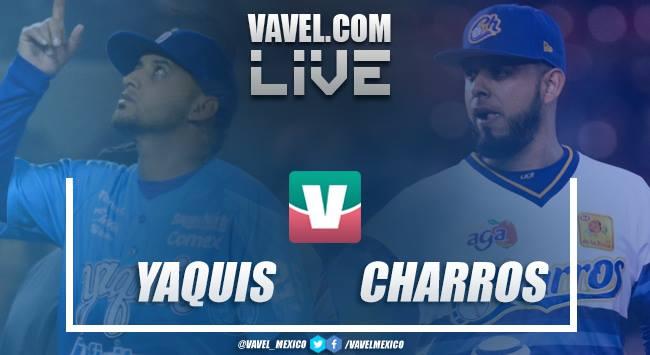 Resultado y carreras Yaquis 1-11 Charros en Juego Final LMP 2019
