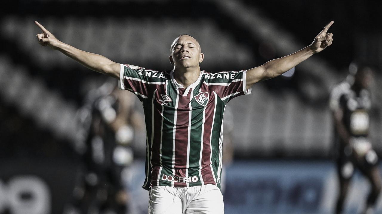 """Criticado pela torcida, Wellington Silva marca gol e desabafa: """"Sempre dei a vida"""""""