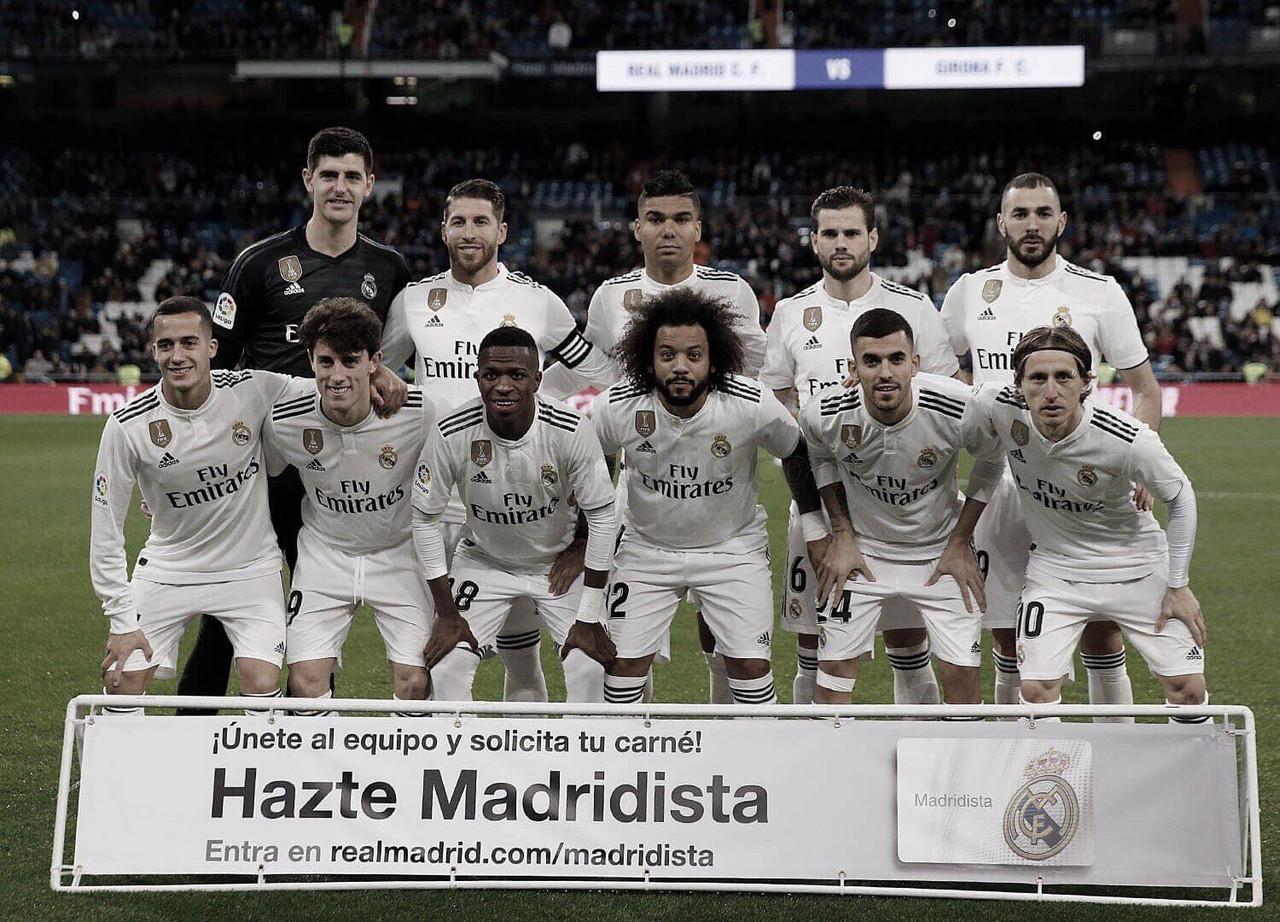 El Madrid golpea primero