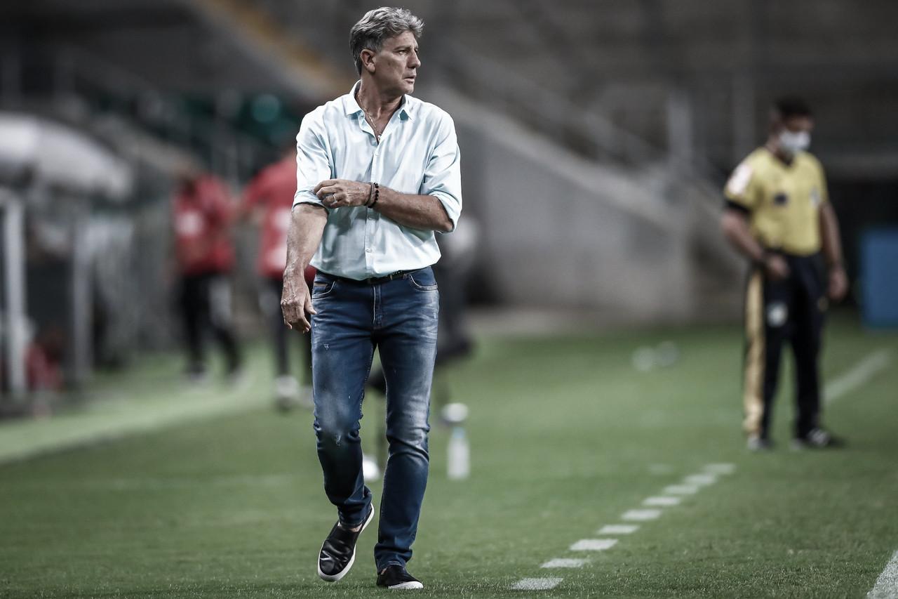 """Grêmio leva virada e Renato dispara: """"Tem equipe que investiu e não vai ganhar nada"""""""