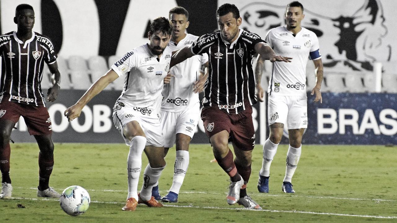 Santos empata com o Fluminense na Vila e encaminha vaga na Libertadores