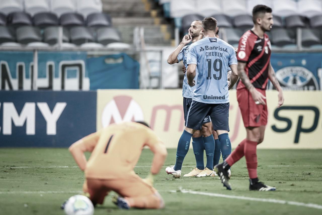 Grêmio vence Athletico e garante vaga na Libertadores pelo sexto ano consecutivo