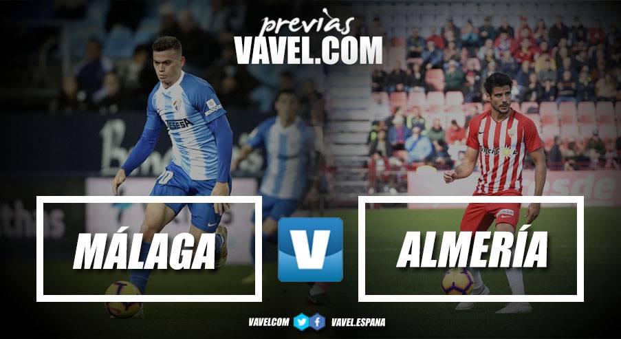 Previa Málaga CF - UD Almería: Sin margen de error