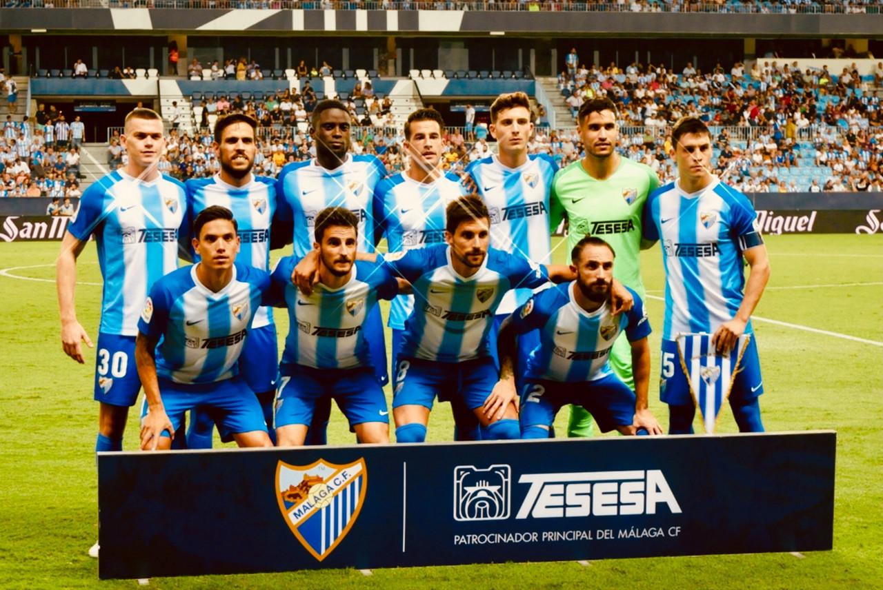 Primera vuelta del Málaga en la Liga 1|2|3