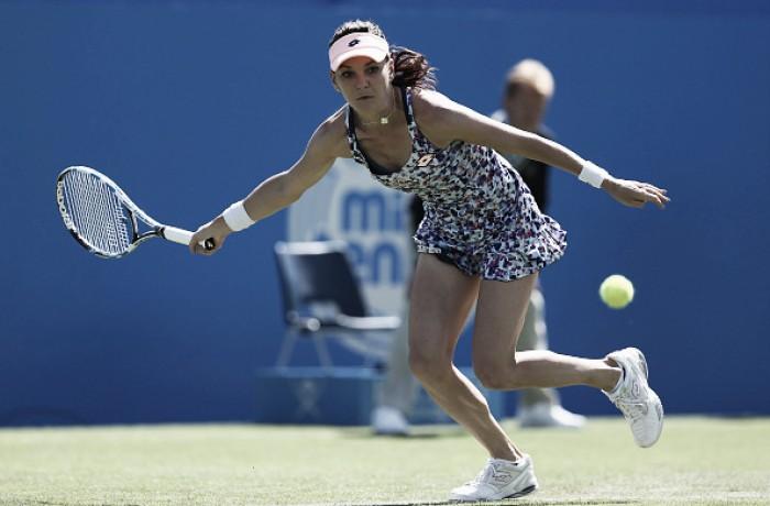 WTA Premier de Eastbourne: apenas Radwanska avança entre as quatro primeiras cabeças de chave
