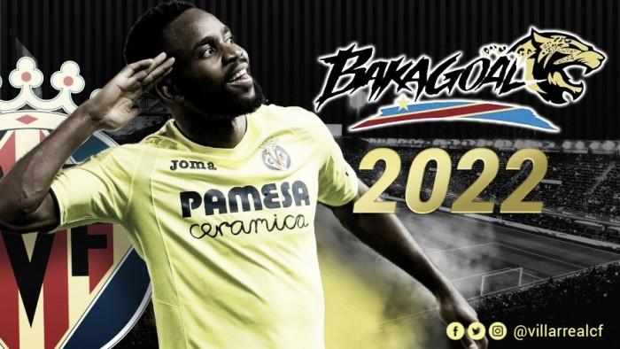 Um dos destaques da equipe, atacante Bakambu renova com Villarreal até 2022