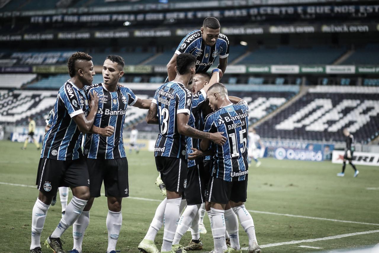 Em noite inspirada de Brenno, Grêmio vence Aimoré pelo Campeonato Gaúcho