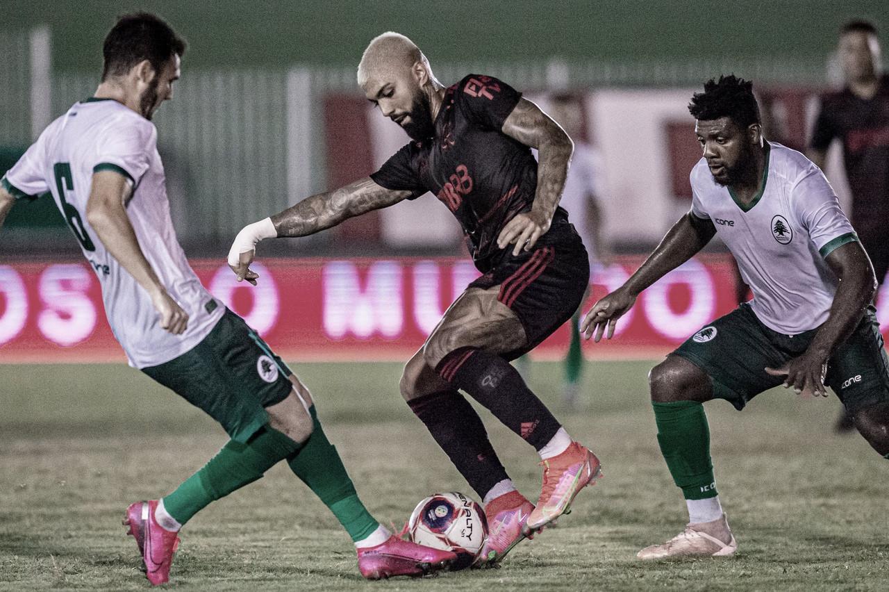 Flamengo empata com Boavista e reassume topo do Carioca
