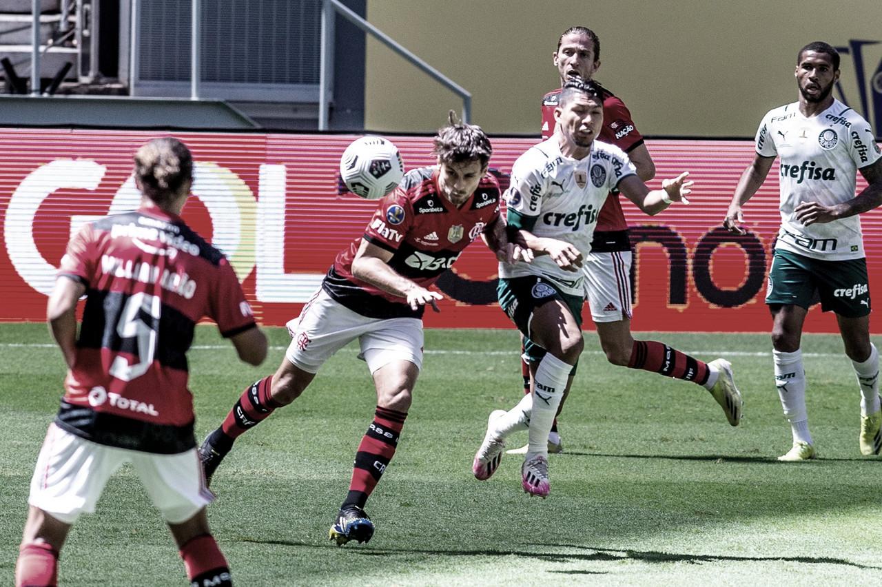Flamengo e Palmeiras fazem o duelo mais esperado da primeira rodada