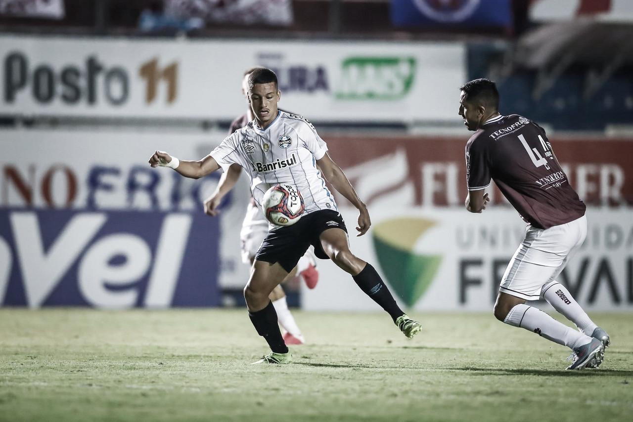 Grêmio recebe Caxias precisando de empate para chegar à final do Gauchão