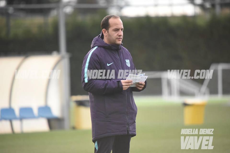 """Lluís Cortés: """"Hemos hecho un muy buen partido, tenemos que seguir en esta línea"""""""