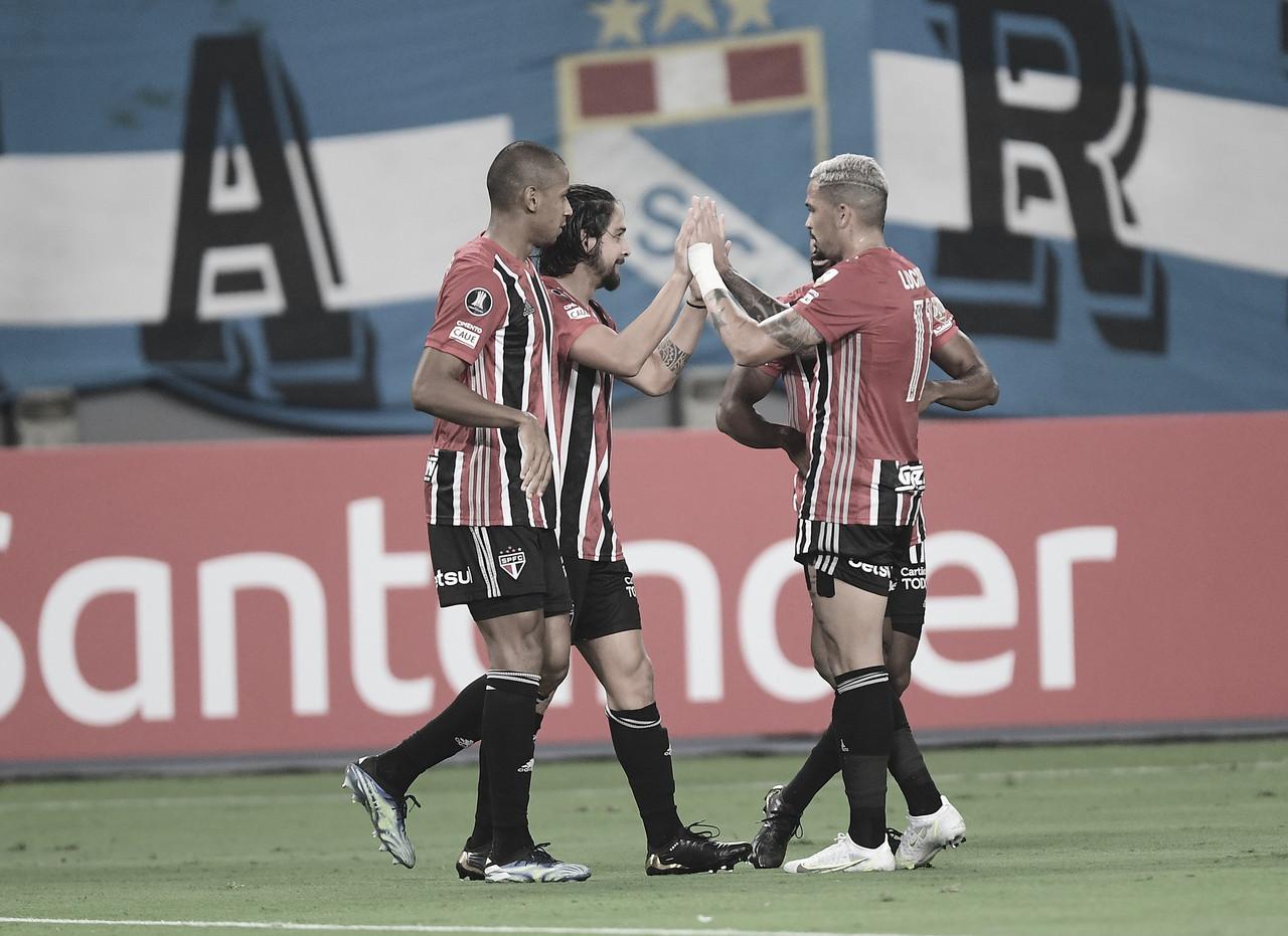 Estreia de gala! São Paulo faz três e vence Sporting Cristal com notoriedade