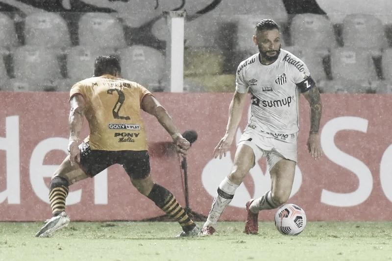 Não começou bem! Santos perde em casa para Barcelona-EQU na abertura da Libertadores 2021