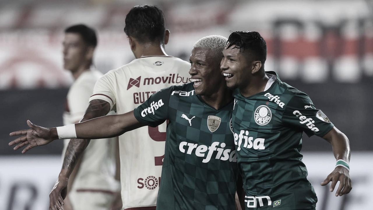 No sufoco! Com gol no último minuto, Palmeiras vence Universitário em estreia na Libertadores