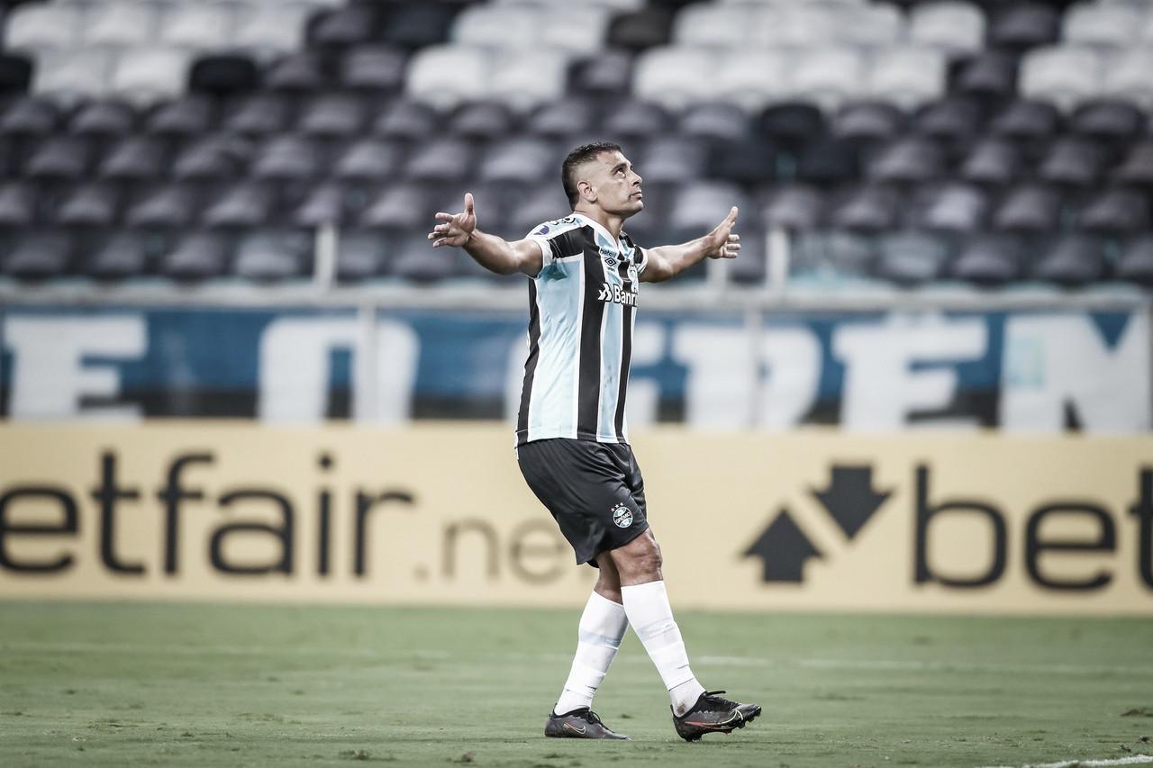 Gols e melhores momentos de Grêmio 2 x 1 La Equidad pela Copa Sul-Americana 2021