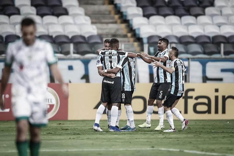 Grêmio estreia com vitória na Sul-Americana ao bater La Equidad