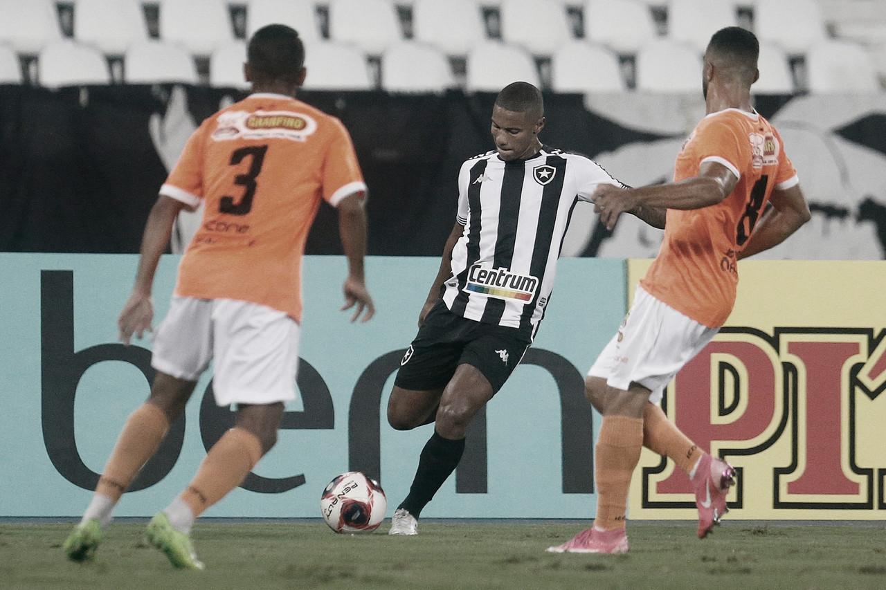 Botafogo joga mal e empata com Nova Iguaçu no primeiro jogo da semifinal da Taça Rio