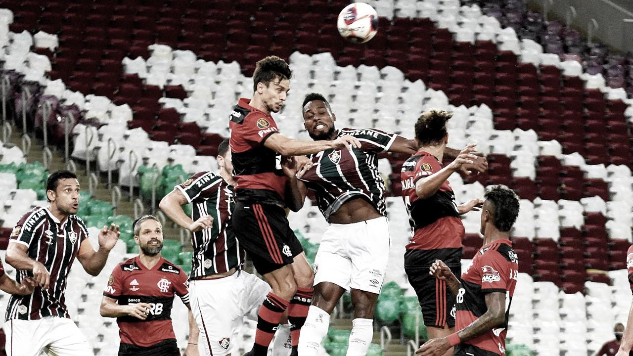 Fluminense e Flamengo ficam no empate no primeiro jogo da final do Carioca