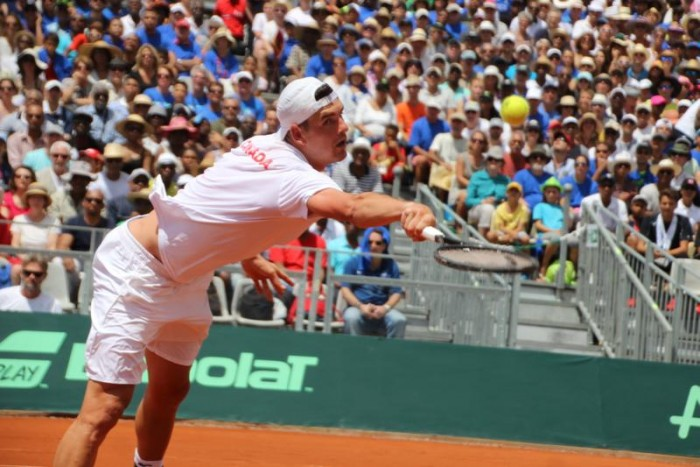 Davis Cup: Canada Win First Set, Frank Dancevic Retires