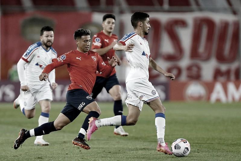 Em jogo equilibrado, Independiente vence Bahia e assume a ponta do grupo na Sul-Americana