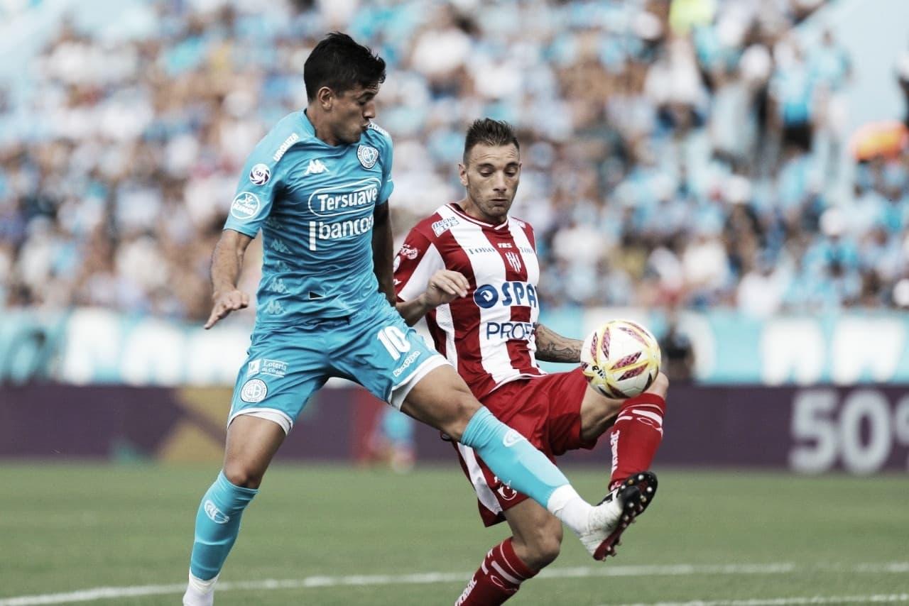 Belgrano y Unión se enfrentaron en un gran partido, pero no hubo goles