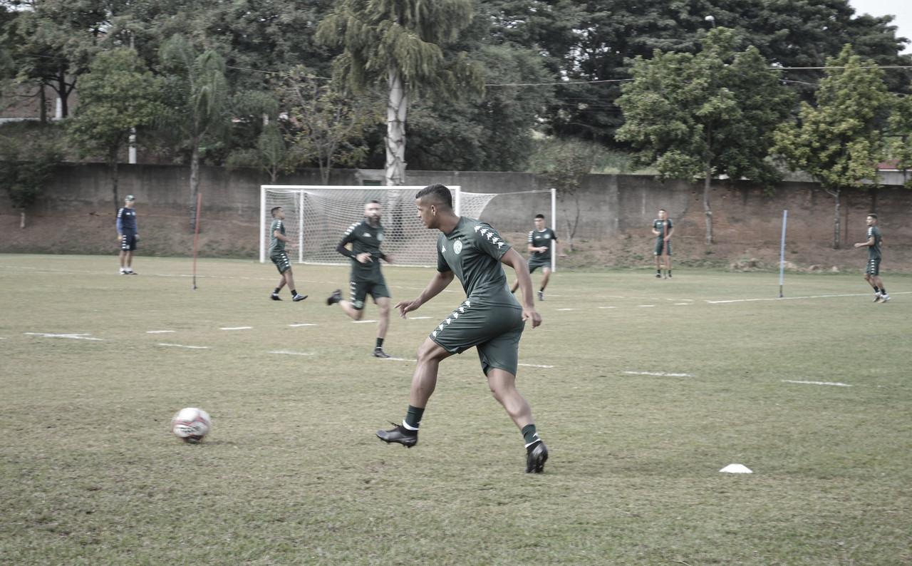 Apresentado no Guarani, Lucão visa ótima sequência na equipe durante Série B