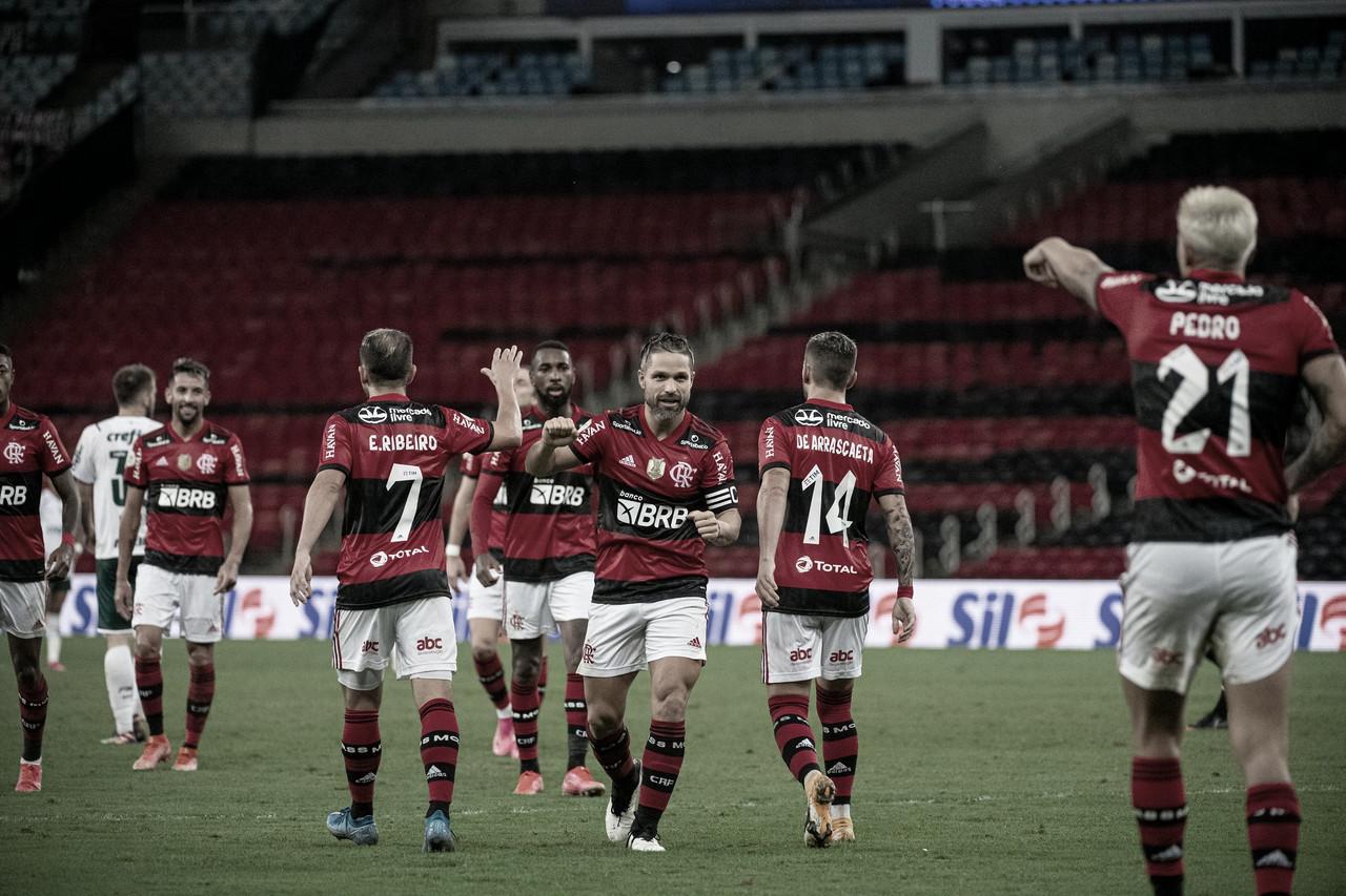 Pedro marca, e Flamengo derrota Palmeiras na estreia do Brasileirão