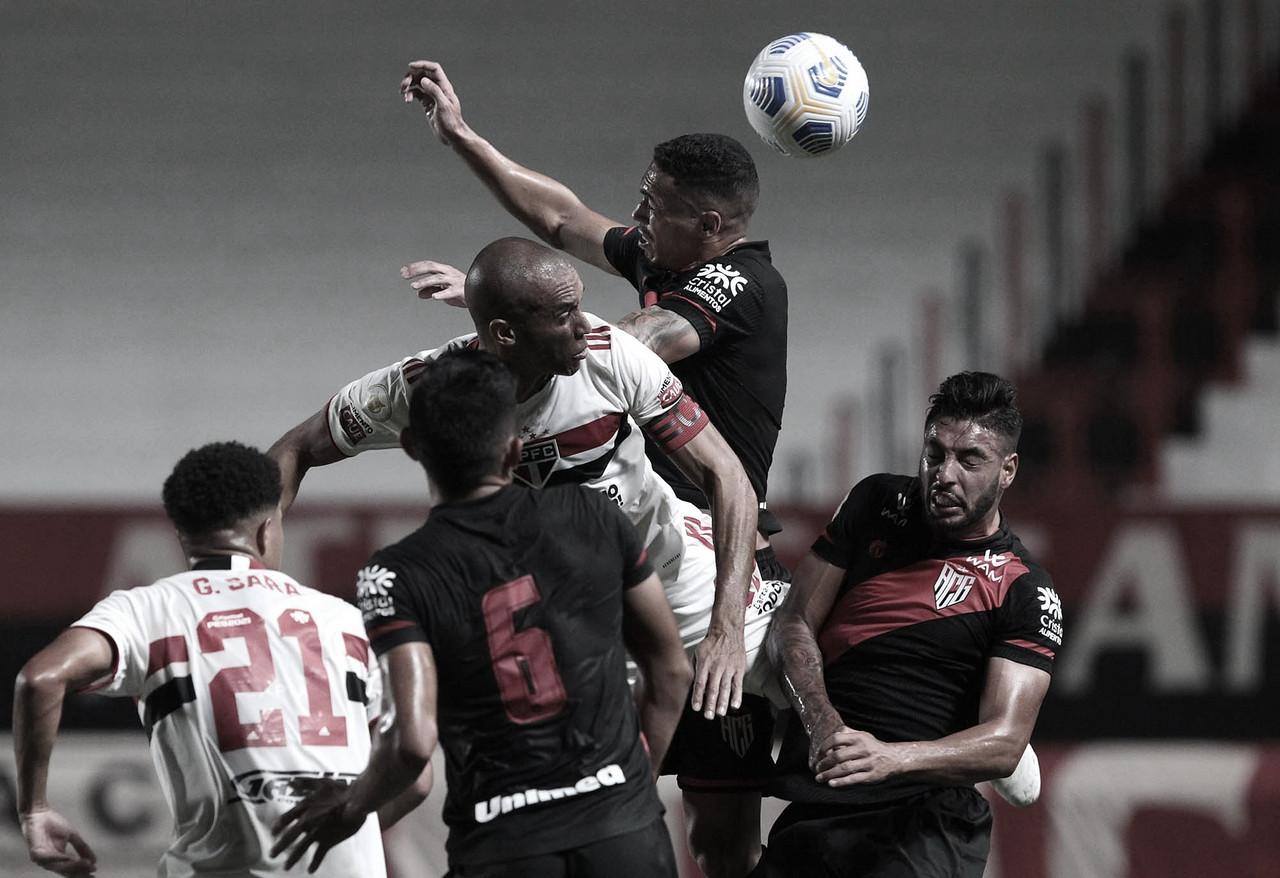 Atlético-GO bate São Paulo em casa e mantém boa fase