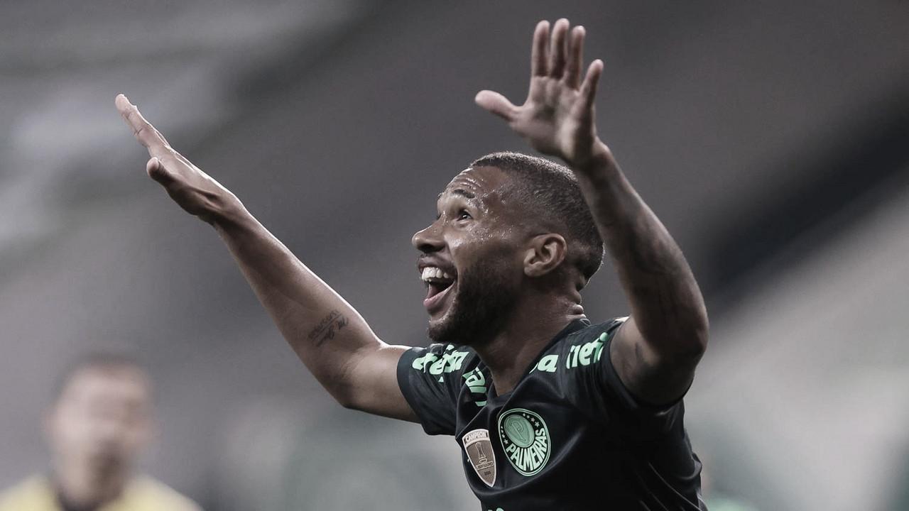 Com dois gols de Wesley, Palmeiras vence Chapecoense no Allianz Parque