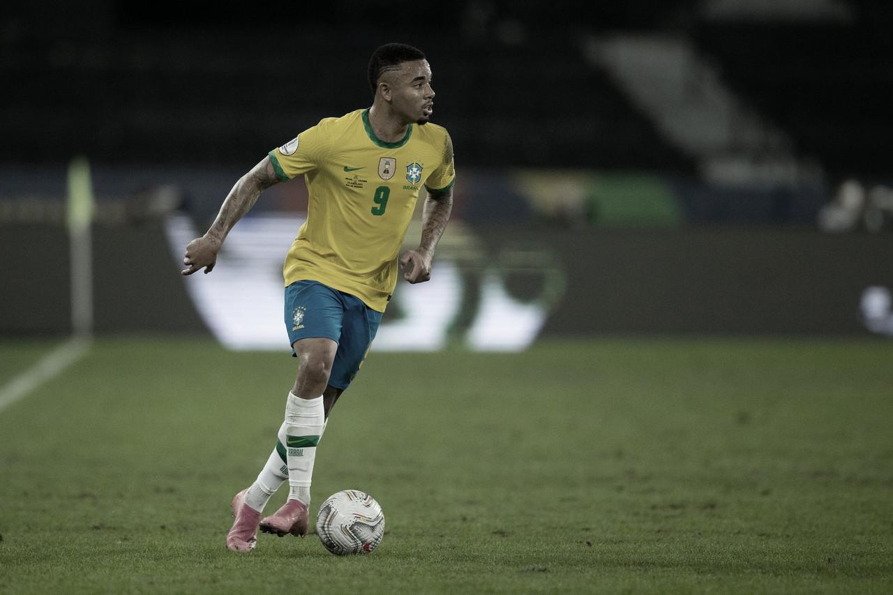 Gabriel Jesus é suspenso pela Conmebol e não vai disputar final da Copa América