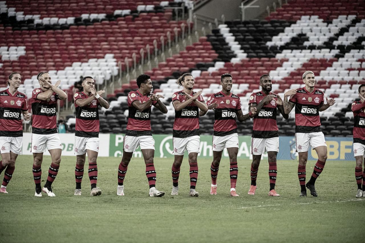 Na despedida de Gerson, Flamengo sabe sofrer e vence Fortaleza no Brasileirão