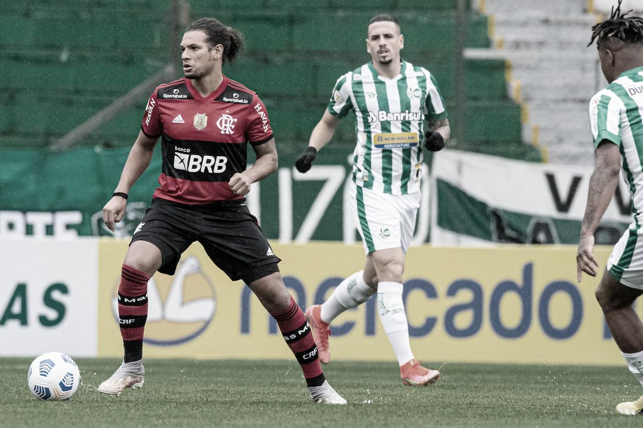 Na caça ao líder, Flamengo recebe o Juventude