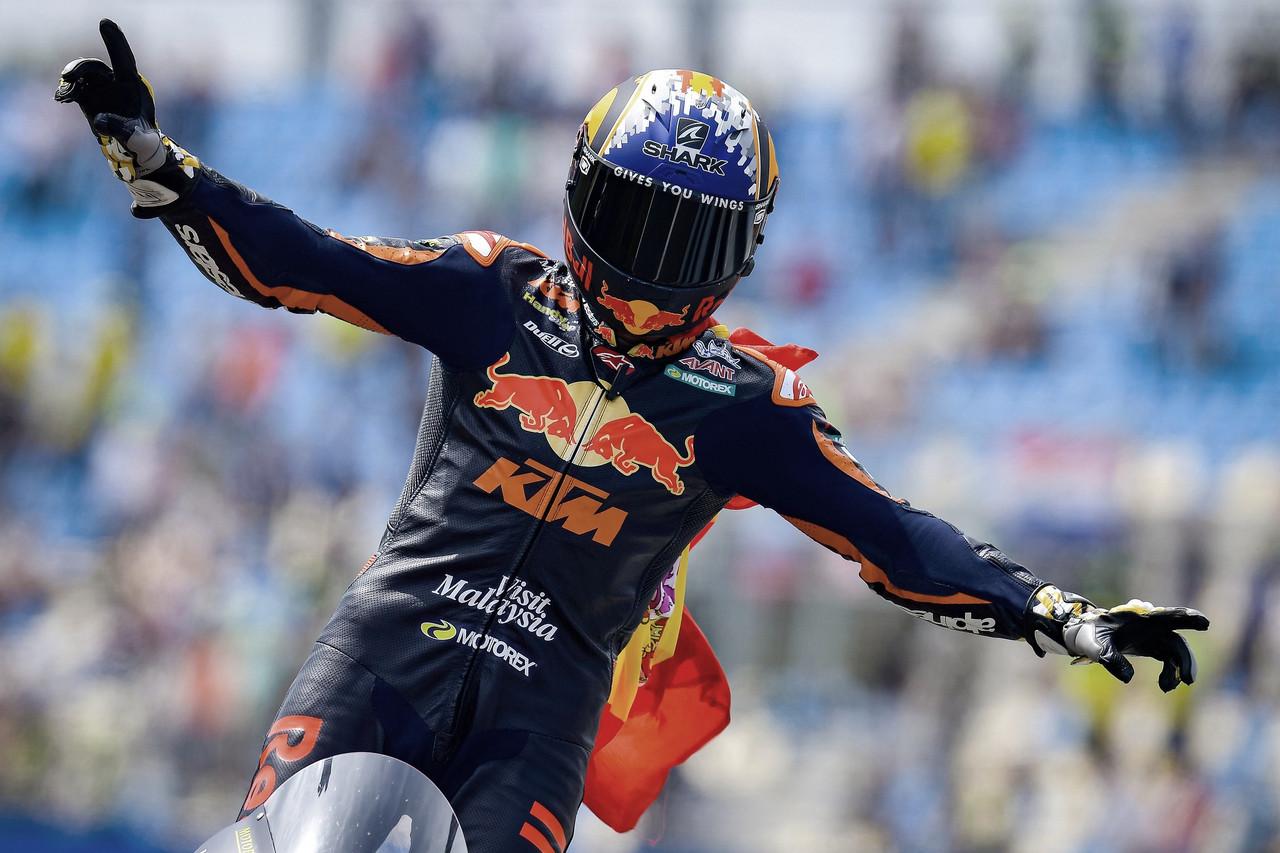 Raúl Fernández dará el salto a MotoGP en 2022