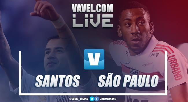 Gols e resultado Santos e São Paulo no Campeonato Paulista 2019