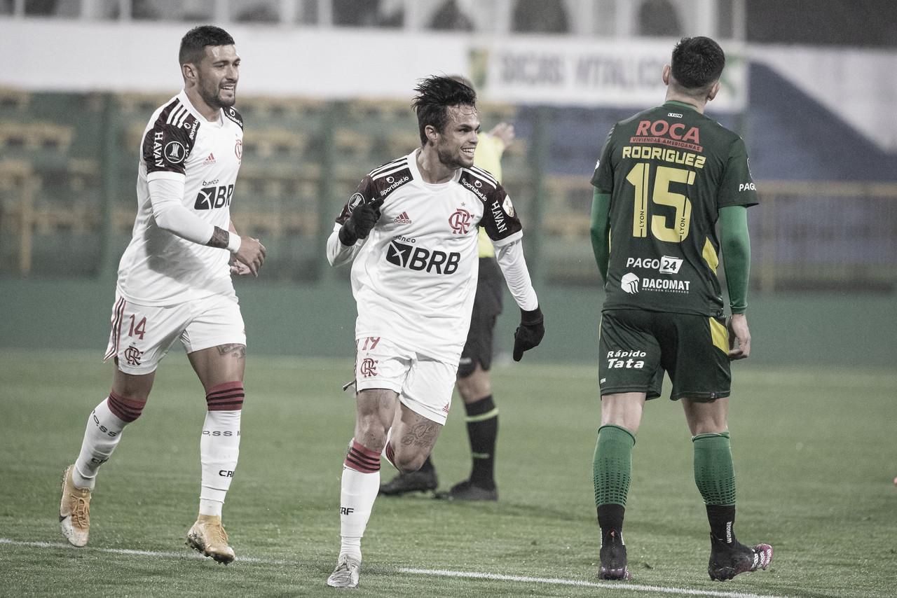 Flamengo joga mal, mas vence Defensa y Justicia na estreia de Renato Portaluppi