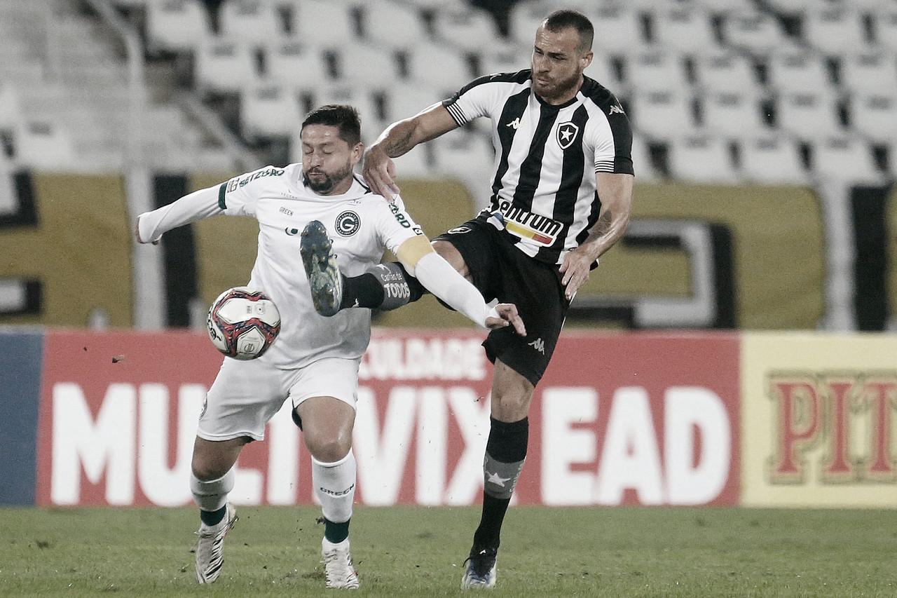 Goiás marca duas vezes no primeiro tempo, vence Botafogo e volta ao G-4 da Série B